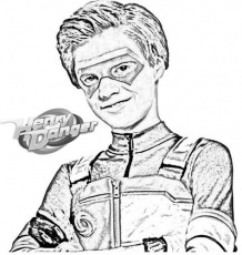 fun henry danger coloring and drawing page | Drawings, Sun ...