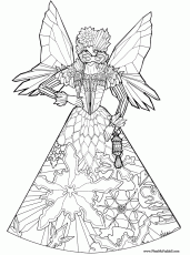 Fairy Princess Coloring Pages | Coloring Pages