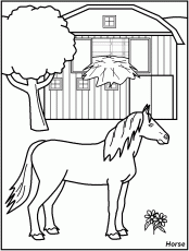 FREE Printable Farm Animal Coloring Pages - great for kids