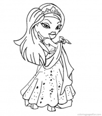 brats coloring pages