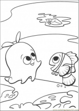 Finding Nemo Pearl Coloring Pages Images & Pictures - Becuo