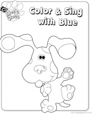 Blues Clues Coloring Pages 23 | Free Printable Coloring Pages