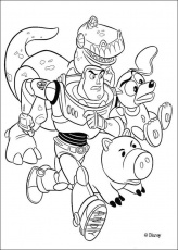 Toy Story coloring book pages : 53 free Disney printables for kids