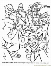March 2013 - Superhero Coloring Pages