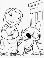 Disney Cartoon Coloring Pages - Disney Coloring Pages