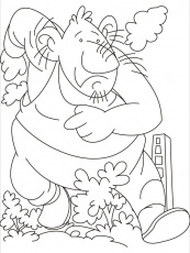 coloring pages the selfish giant 6 coloring home
