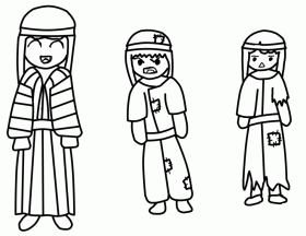 25+ Shadrach Meshach And Abednego Coloring Page