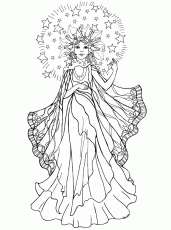 Angel Coloring Pages | ColoringMates.