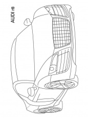 Audi coloring pages. Free Printable Audi coloring pages.