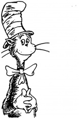 Adult Printable Cat In The Hat Coloring Pages For Kids Kidsthe Cat ...
