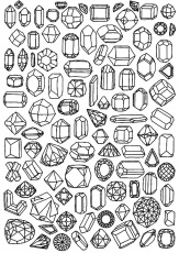 Jewel - Coloring Pages for Adults
