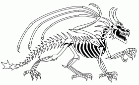 Skeleton Coloring Pages (15 Pictures) - Colorine.net | 17347