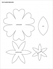 12+ Printable Flower Petal Templates Free Download! | Free ...