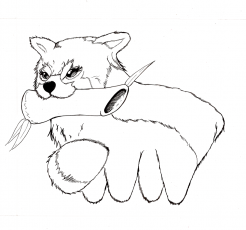Red Panda Coloring Pages - Coloring Labs