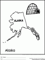 free alaska coloring pages