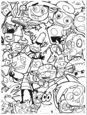 90's cartoon coloring pages – Google Search #cartoon #coloring ...