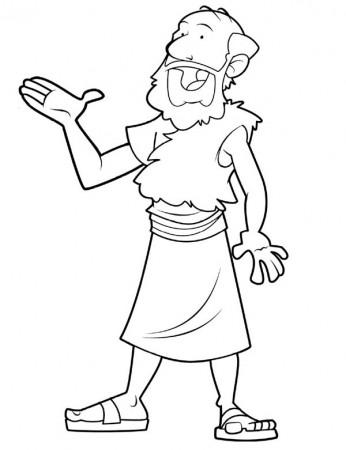 elijah prophet elijah praying to god coloring pages elijah - Elijah Prophet Coloring Pages