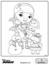 Doc McStuffins Coloring Pages - Dr. Odd
