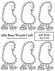 Jelly Bean Coloring Page - eassume.com