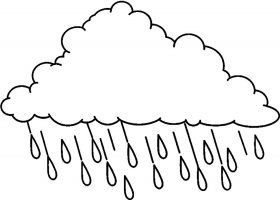 Rain Cloud Coloring Page. rain cloud coloring page best diy ...