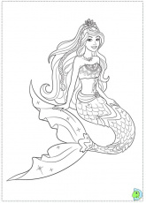 Free Printable Colouring Pages Mermaids - High Quality Coloring Pages