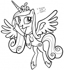 My Little Pony Princess Cadence | Related: My Little Pony Shining ...