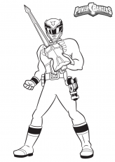 Coloring Pages Power Rangers Dino Thunder - High Quality Coloring ...