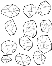 Gems Coloring Page | Coloring pages, Gold drawing, Gem drawing