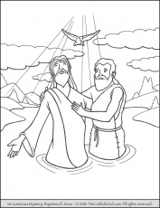 Sorrowful Mysteries Rosary Coloring Pages - The Crowning of Thorns ...
