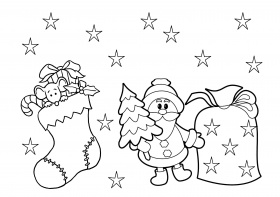 spongebob christmas coloring pages tree printable - Printable Kids ...
