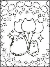 Pusheen 5 Printable coloring pages for kids in 2020 | Pusheen coloring pages,  Cute coloring pages, Coloring pages