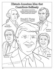 New Trump Coloring Book Lets You Find the Perfect Crayon for The ...