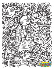 document our lady of guadalupe coloring page our lady of guadalupe