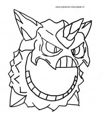 Groudon Coloring Pages Page 1
