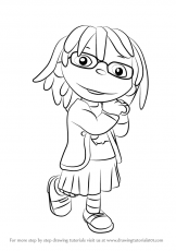 May - Sid The Science Kid Coloring Page