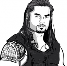 WWE Coloring Pages Edge