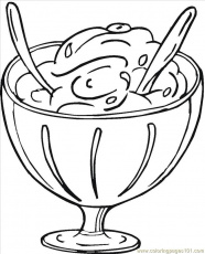 16129356 Coloring Page - Free Desserts Coloring Pages ...