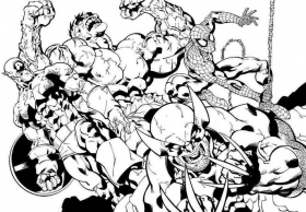 10 Pics of Intricate Coloring Pages Avengers - Next Avengers ...
