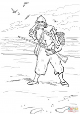Swiss Family Robinson Crusoe And Coloring Pages
