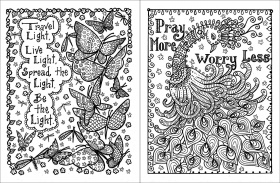 Buy Posh Adult Coloring Book: Inspirational Quotes for Fun ...