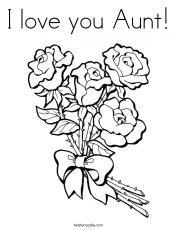 Happy Birthday Aunt Coloring Pages | Mothers day coloring pages, Birthday coloring  pages, Mom coloring pages