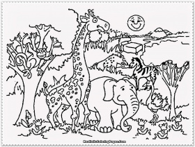 Zoo Coloring Pages | fanzdvrlistscom