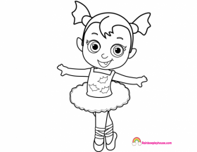 Vampirina Coloring Pages at GetDrawings | Free download