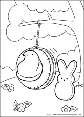 Peeps Coloring Pages - Educational Fun Kids Coloring Pages and Preschool  Skills Worksheets