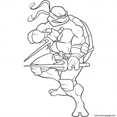 Print free superhero s ninja turtle cool0660 Coloring pages