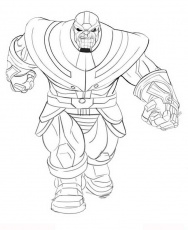 Thanos Coloring Pages for Adults #coloring | Adult coloring ...