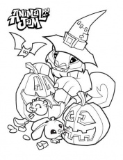 Animal Jam Coloring Pages - The Daily Explorer | Animal jam ...