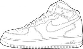 Coloring Pages : Shoe Coloring Page Printable Free Pages Running ...