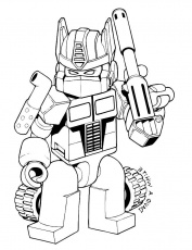 Easy Free Transformer 4 Coloring Pages - Free Coloring Sheets