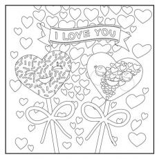 Emoji Love Coloring Book: 48 Pages For Adults, Teens and Kids - Color With  Music | Love coloring pages, Valentine coloring pages, Cute coloring pages